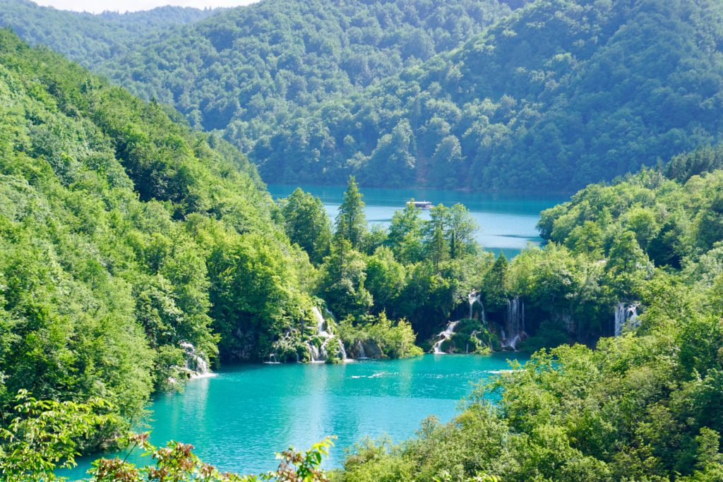 Plitvice nationalpark.