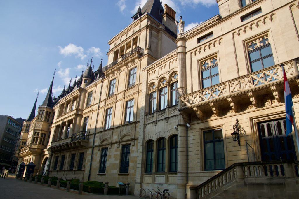The Grand Ducal Palace Luxembourg